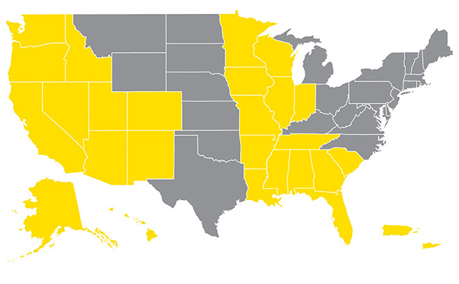 Map of Sprint Business Solutions